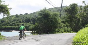 biking on st croix